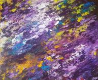 Basilic, oil on canvas cardboard, 38x46cm, Available