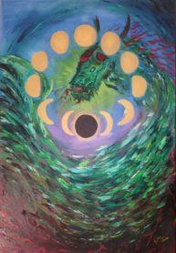 Fulfilment, oil on canvas 115x80cm, Available