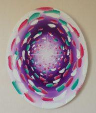 La Montée des âmes, oil on canvas 40x50cm, Available