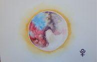 Pluton, aquarelle 20x30cm, disponible
