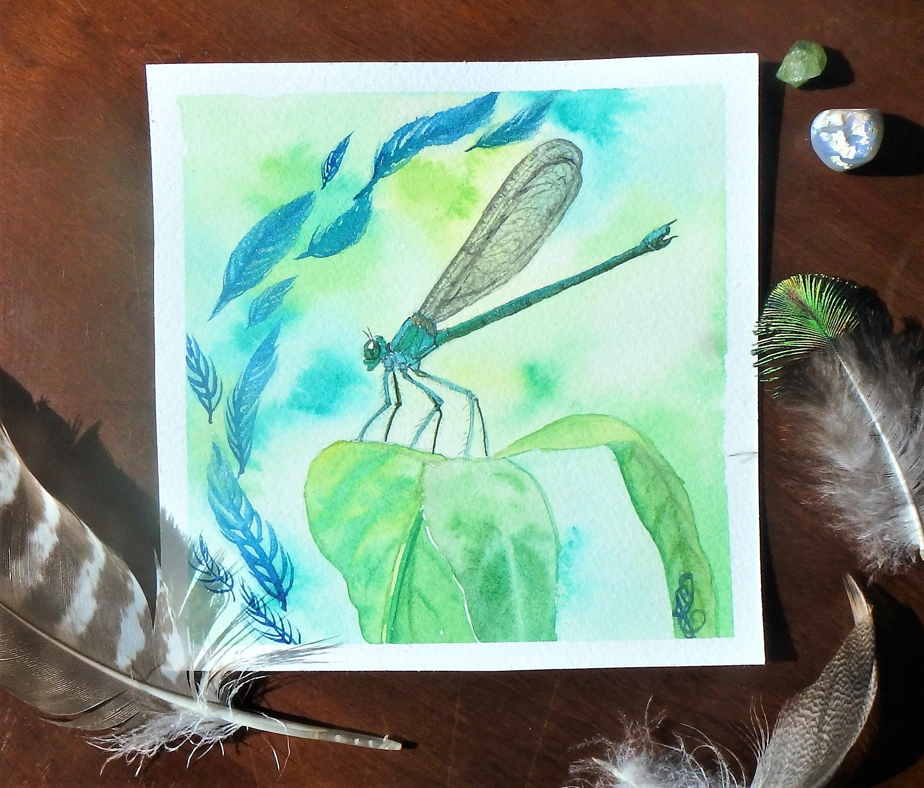 Esprit de la libellule